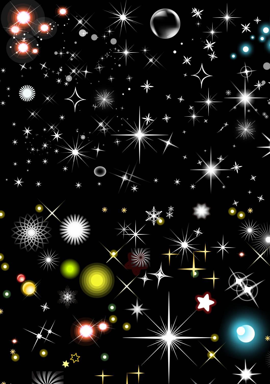 картинки звездочек разных размеров